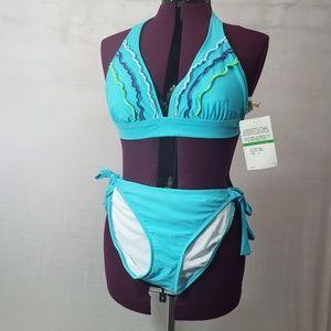 NWT Hobie 2 piece bathing suit